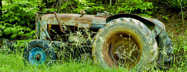 Tractor Poster featuring the photograph Fordson Major Diesel Two by Robert J Andler