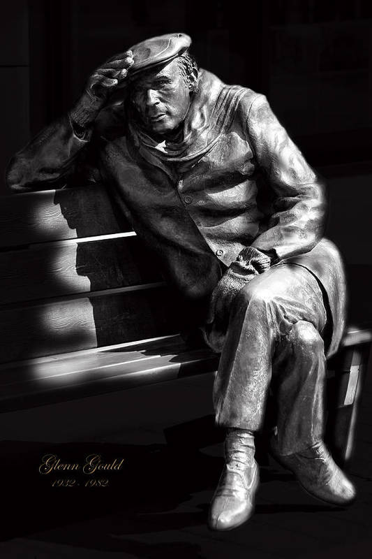 Pianist Poster featuring the photograph Glenn Gould by Andrew Fare