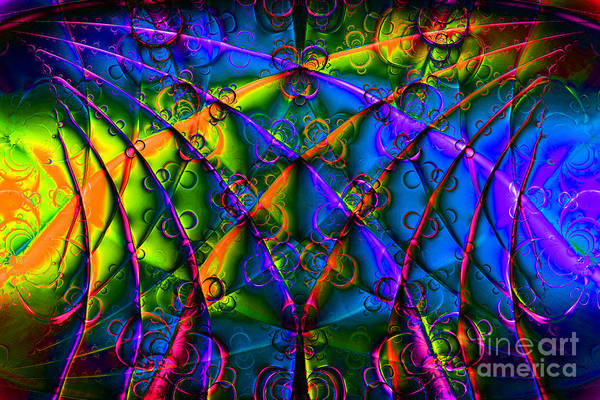 Fractal Poster featuring the digital art Journey 20130511v1 by Wingsdomain Art and Photography