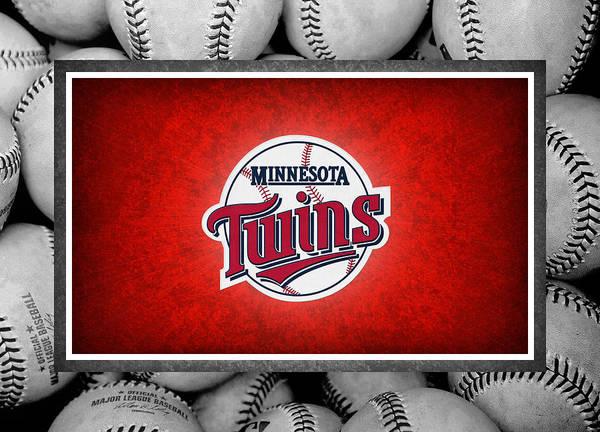 Twins Poster featuring the photograph Minnesota Twins by Joe Hamilton