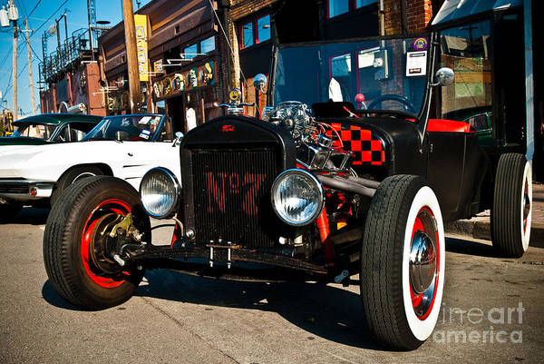 Cars Poster featuring the photograph Model T Xtra by Sonja Quintero