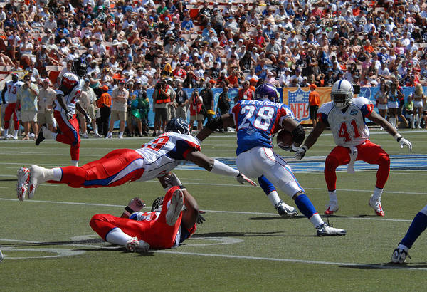 Nfl Poster featuring the photograph Nfl Pro Bowl by Mountain Dreams