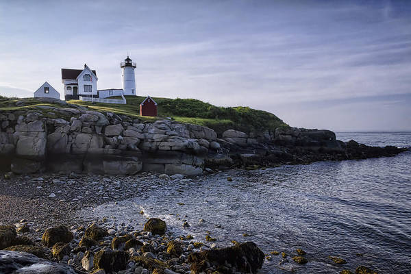 Cape Neddick Poster featuring the photograph Nubble Dawn by Joan Carroll