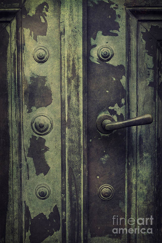 Old Door Poster by Mythja  Photography
