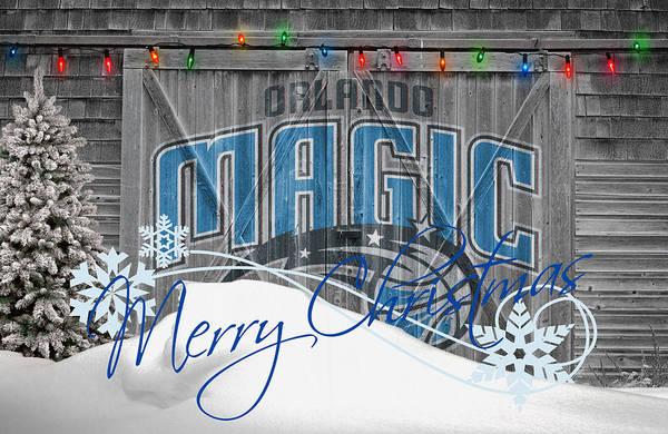 Magic Poster featuring the photograph Orlando Magic by Joe Hamilton