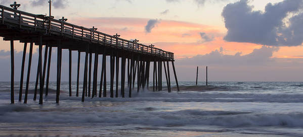 3scape Photos Poster featuring the photograph Outer Banks Sunrise by Adam Romanowicz