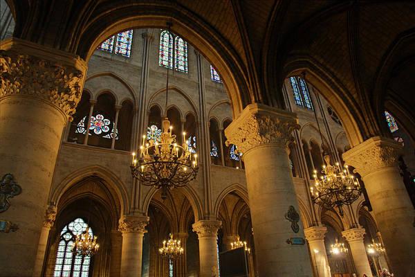 Aged Poster featuring the photograph Paris France - Notre Dame De Paris - 01134 by DC Photographer