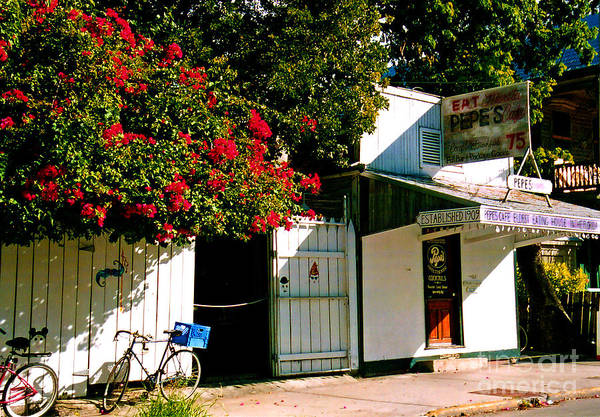 Pepes Poster featuring the photograph Pepes In Key West Florida by Susanne Van Hulst