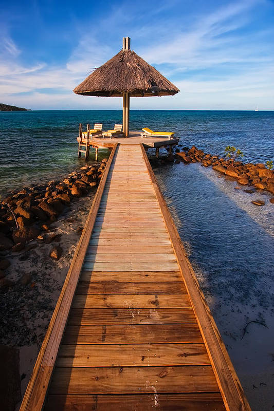 3scape Photos Poster featuring the photograph Perfect Vacation by Adam Romanowicz