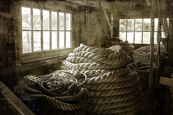 Cindi Ressler Poster featuring the photograph Plymouth Cordage Company Ropewalk by Cindi Ressler