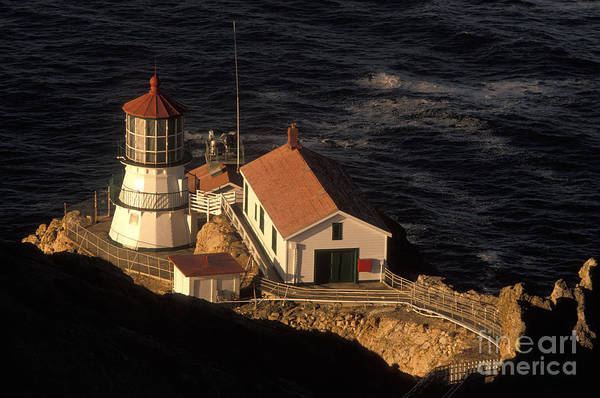 Lighthouse Poster featuring the photograph Point Reyes Lighthouse by Ron Sanford