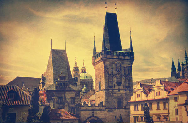 Prague Poster featuring the photograph Praha by Taylan Soyturk