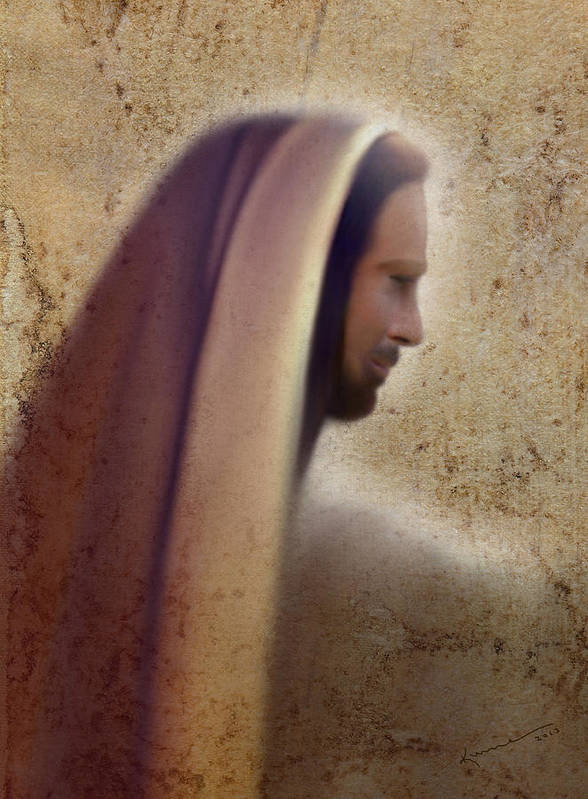 Prince Of Peace Poster featuring the painting Prince Of Peace by Kume Bryant