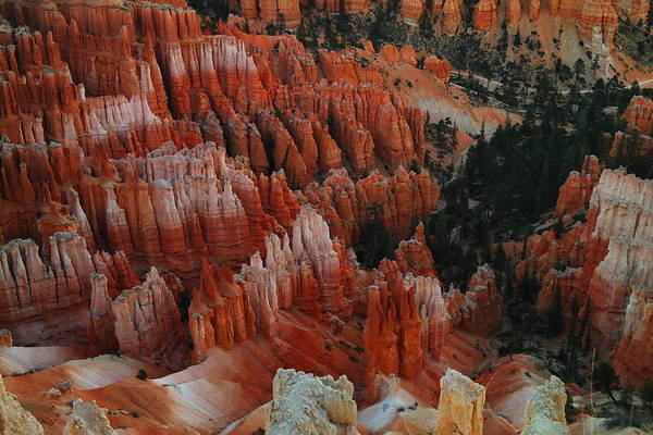 Red Poster featuring the photograph Red Rock by Jeff Swan