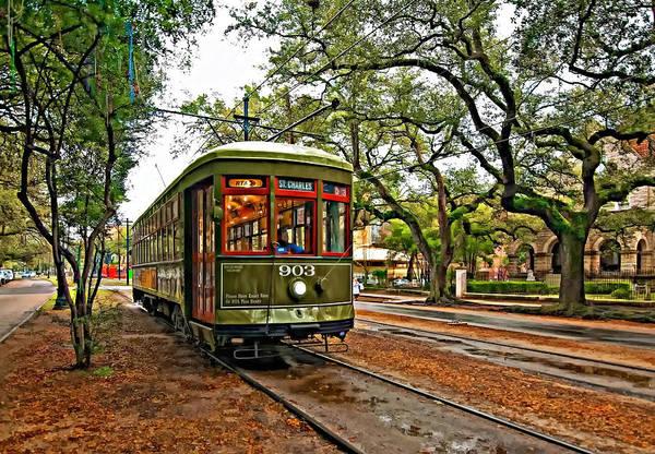 Garden District Poster featuring the photograph Rollin' Thru New Orleans by Steve Harrington