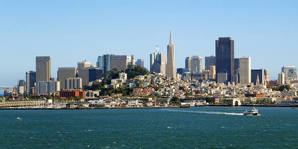 San Francisco Poster featuring the photograph San Francisco Skyline by Kelley King