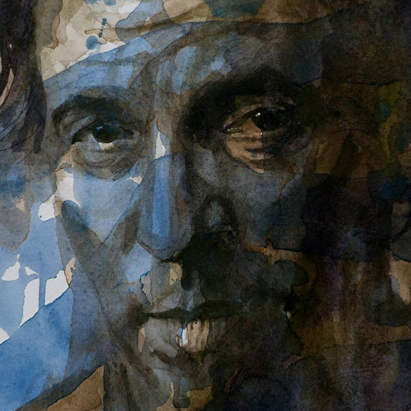 Bruce Springsteen Poster featuring the painting Shackled And Drawn by Paul Lovering