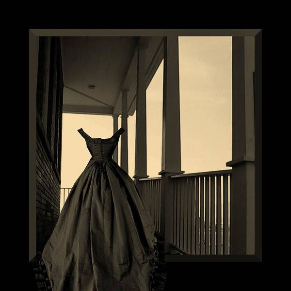 She Walks The Halls Poster featuring the photograph She Walks The Halls by Barbara St Jean