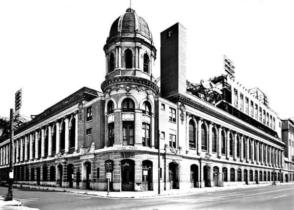 Shibe Poster featuring the photograph Shibe Park by Benjamin Yeager