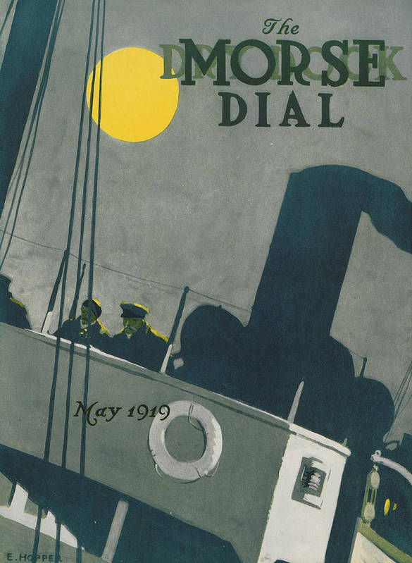 Edward Hopper Poster featuring the painting Ship At Night by Edward Hopper
