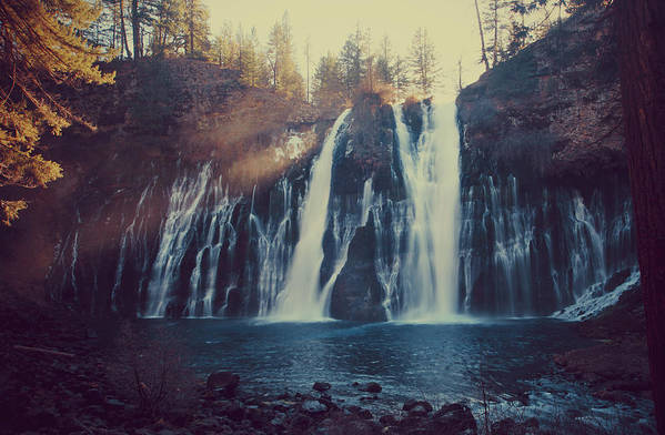 Burney Falls State Park Poster featuring the photograph Sweet Memories by Laurie Search