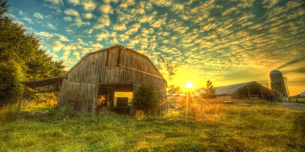 Landscape Poster featuring the photograph Tennesee Sunrise by Caleb McGinn