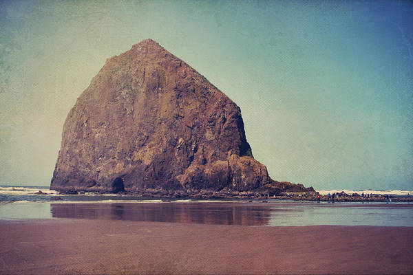 Cannon Beach Poster featuring the photograph That Feeling In The Air by Laurie Search