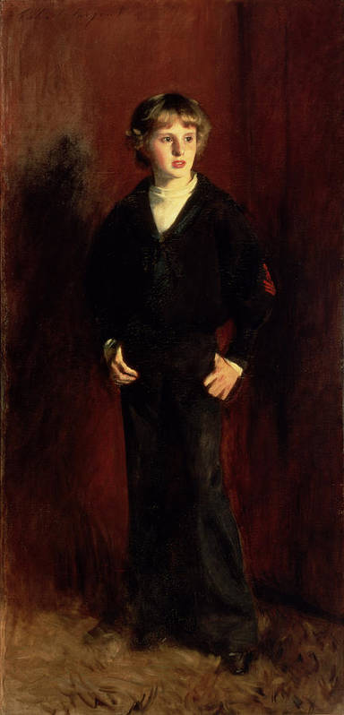 Youth Poster featuring the painting The Late Major E.c. Harrison As A Boy by John Singer Sargent