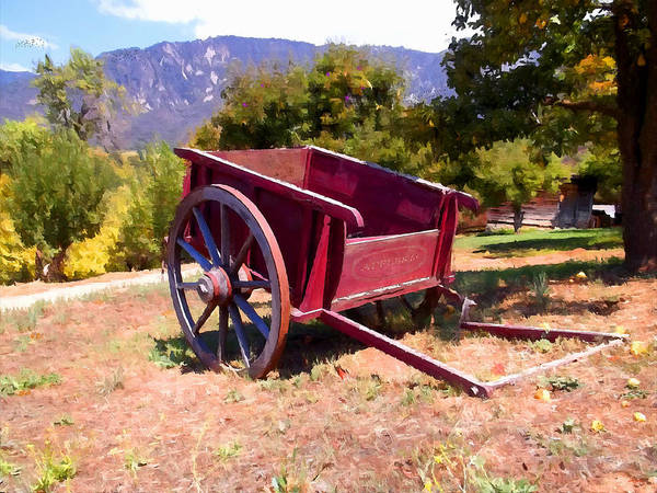 The Old Apple Cart Poster featuring the photograph The Old Apple Cart by Glenn McCarthy Art and Photography