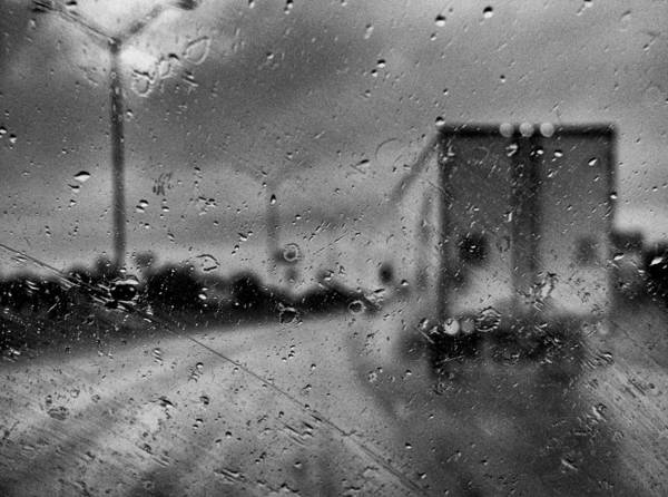 Rain Poster featuring the photograph The Rain Makes Mysteries by Wendy J St Christopher