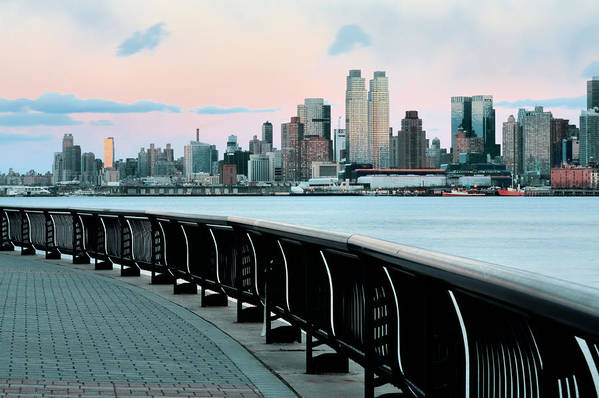 Hoboken Poster featuring the photograph The Upper West Side by JC Findley