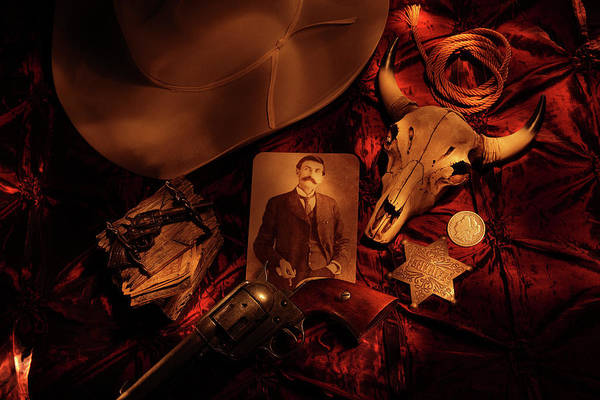 Pat Garrett Poster featuring the photograph Tribute To Pat by Daniel Alcocer