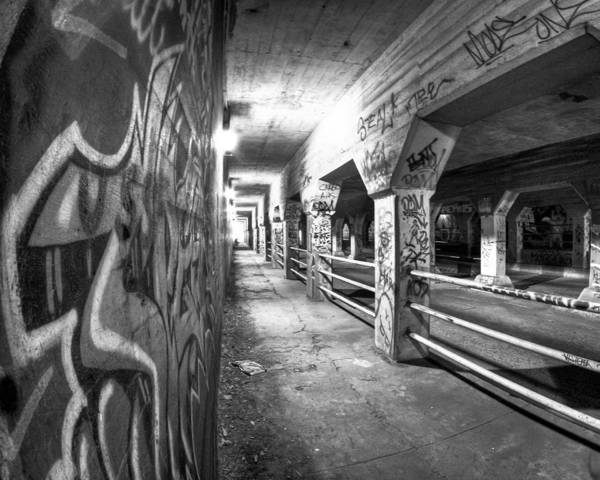 Atlanta Poster featuring the photograph Underworld - The Krog Street Tunnel by Mark E Tisdale