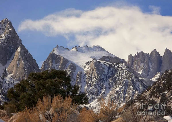 Mount Whitney Poster featuring the photograph Whitney Portal - California by Glenn McCarthy Art and Photography
