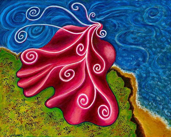Winds Poster featuring the painting Winds Of Change by Annette Wagner