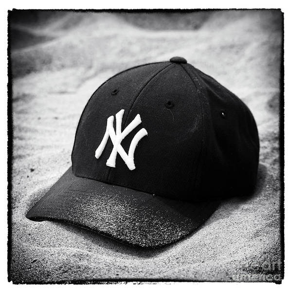 Yankee Cap Poster featuring the photograph Yankee Cap by John Rizzuto