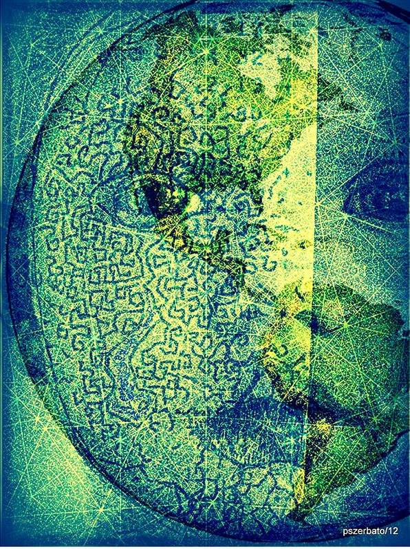 Humans Poster featuring the digital art You Are A Sacred Gift To Be Shared With All Humanity by Paulo Zerbato
