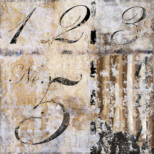 Number Poster featuring the photograph 1235 Hidden 4 by Carol Leigh