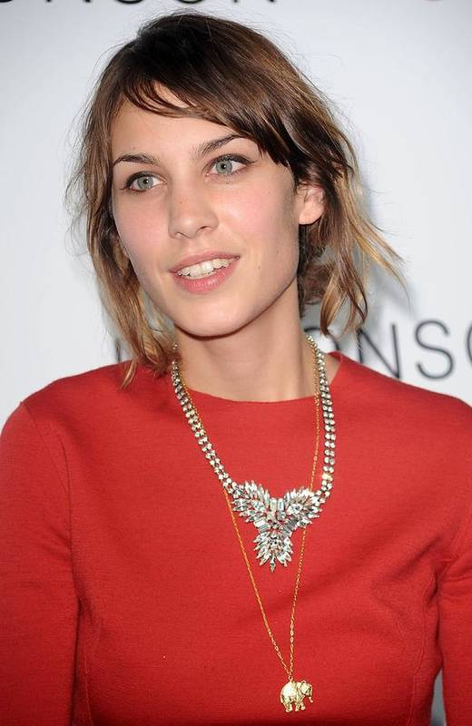 Alexa Chung Poster featuring the photograph Alexa Chung At Arrivals For The by Everett