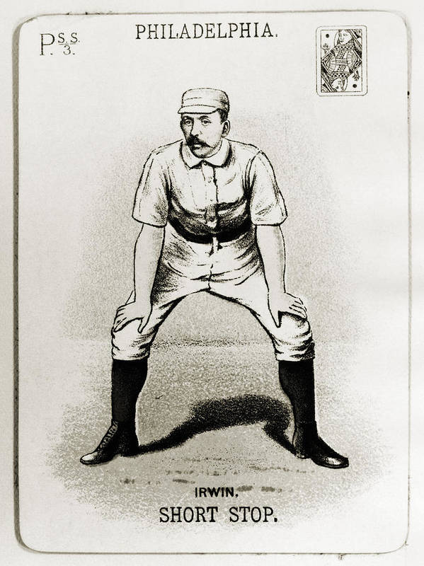 1888 Poster featuring the photograph Arthur Irwin (1858-1921) by Granger