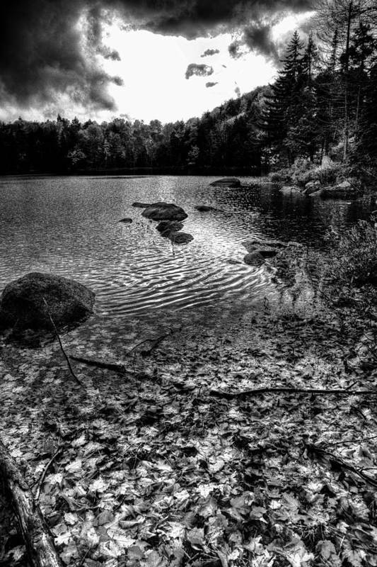Adirondack's Poster featuring the photograph Cary Lake After The Storm by David Patterson
