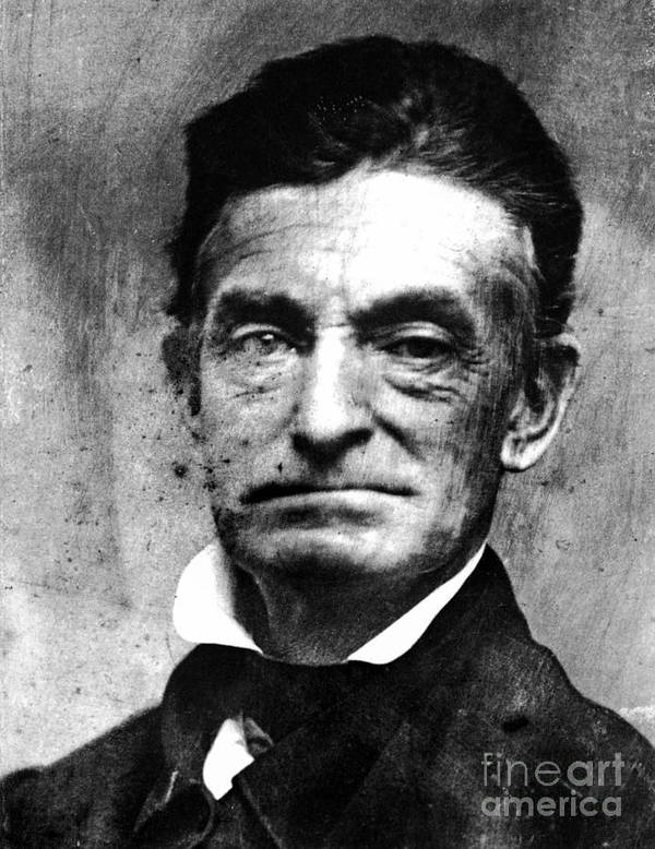1856 Poster featuring the photograph John Brown (1800-1859) by Granger