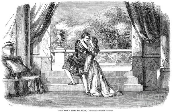 1855 Poster featuring the photograph Romeo & Juliet by Granger
