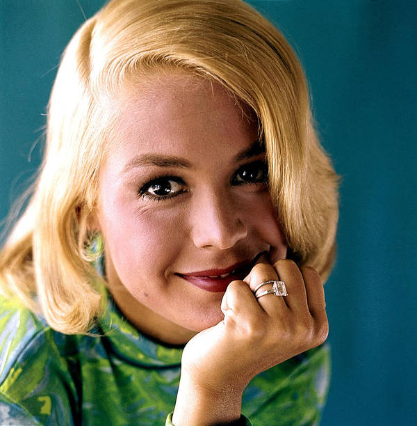 1960s Portraits Poster featuring the photograph Sandra Dee, Ca. Early 1960s by Everett