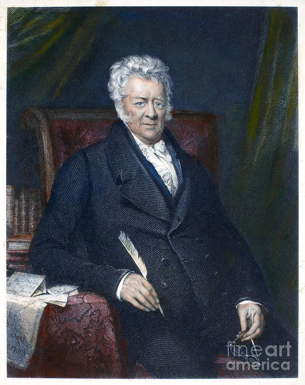 19th Century Poster featuring the photograph Thomas Clarkson (1760-1846) by Granger