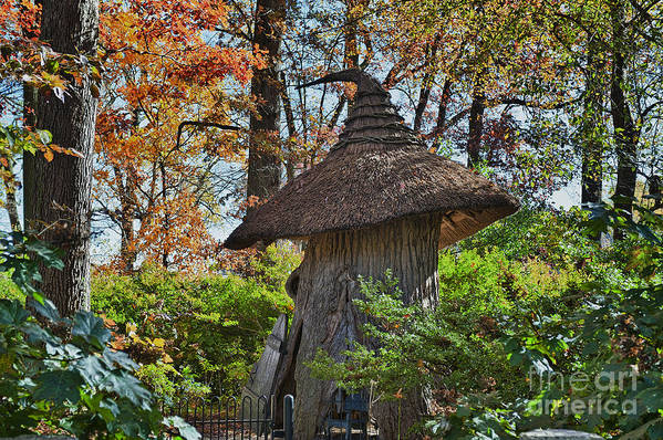 Enchanted Woods Poster featuring the photograph Winterthur Gardens by John Greim