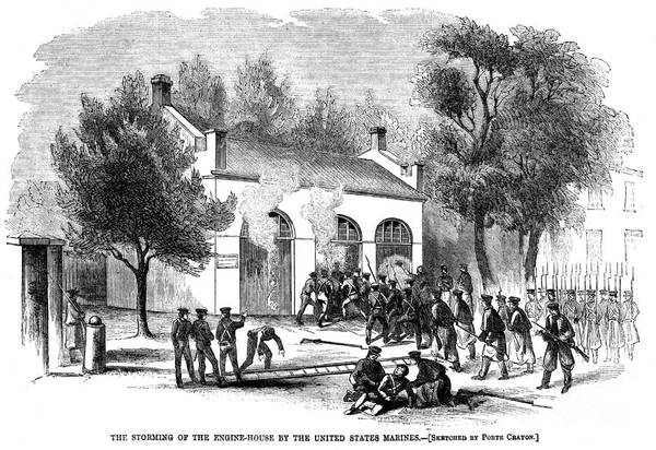 1859 Poster featuring the photograph Harpers Ferry by Granger
