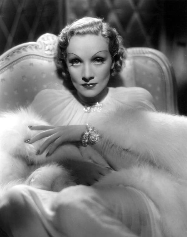 1930s Fashion Poster featuring the photograph Desire, Marlene Dietrich, 1936 by Everett