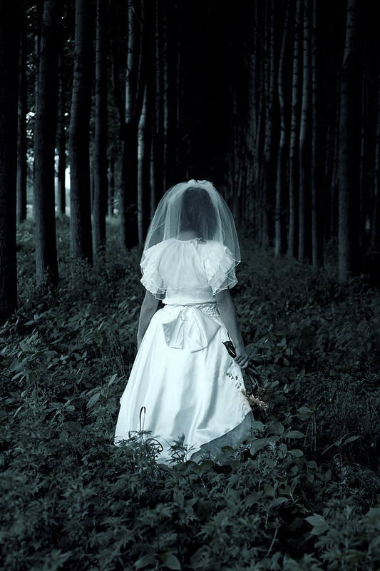 Bride Poster featuring the photograph The Bride by Joana Kruse
