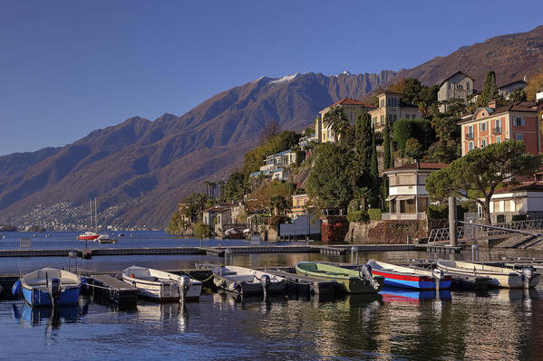 Lago Maggiore Poster featuring the photograph Ascona by Joana Kruse